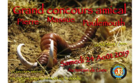 Grand concours amical Pierre, Massue, Poulemouth 2019